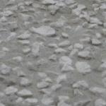 Cemento e ghiaia a vista