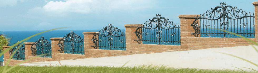 Recinzioni per ville recinzioni per impianti sportivi for Recinzioni in muratura per ville