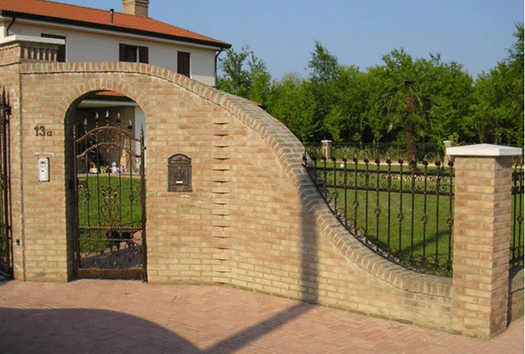Recinzioni per ville muratura for Opzioni di rivestimenti economici per le case