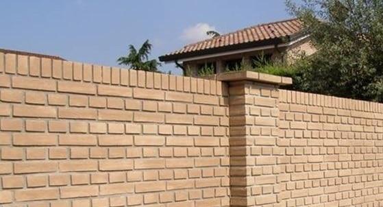 Costo muro di cinta al metro confortevole soggiorno - Quanto costa una casa prefabbricata in cemento armato ...