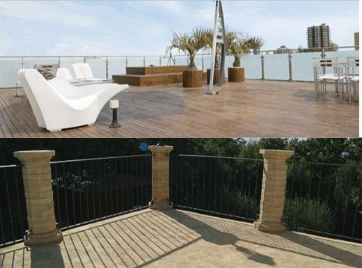 isolare il terrazzo