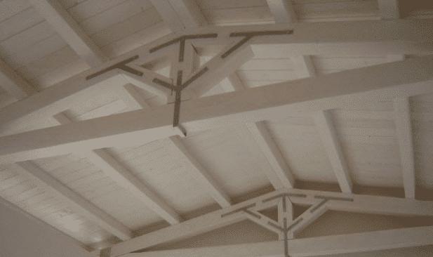 » Perline bianche per soffitto