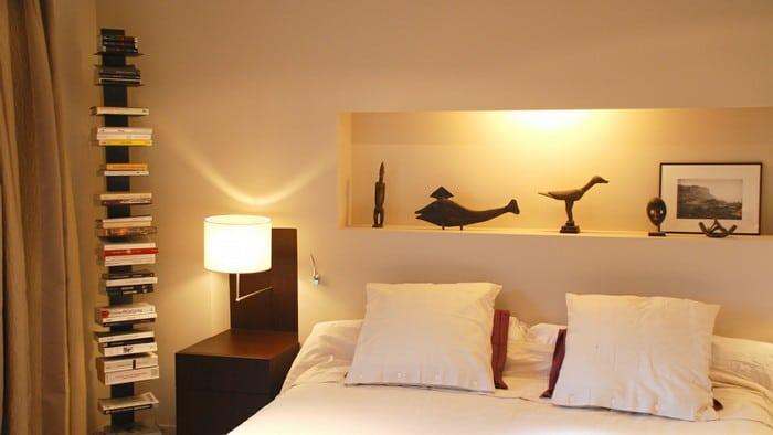 nicchia murale camera da letto