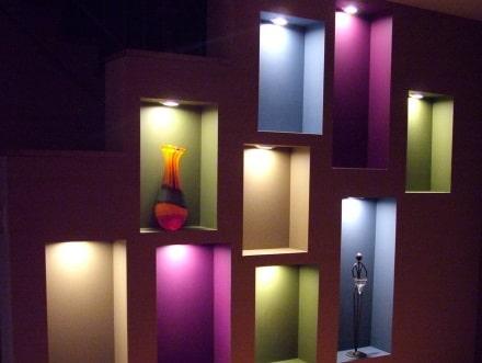 nicchie colori e luci