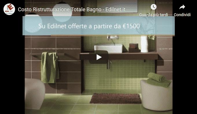 Video di Ristrutturazione bagno con utili consigli Blog Edilnet
