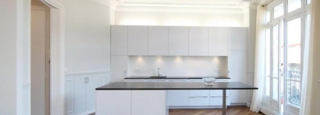 Cucina su appartamento ristrutturato da poco