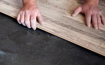 installazione del parquet sul pavimento esistente