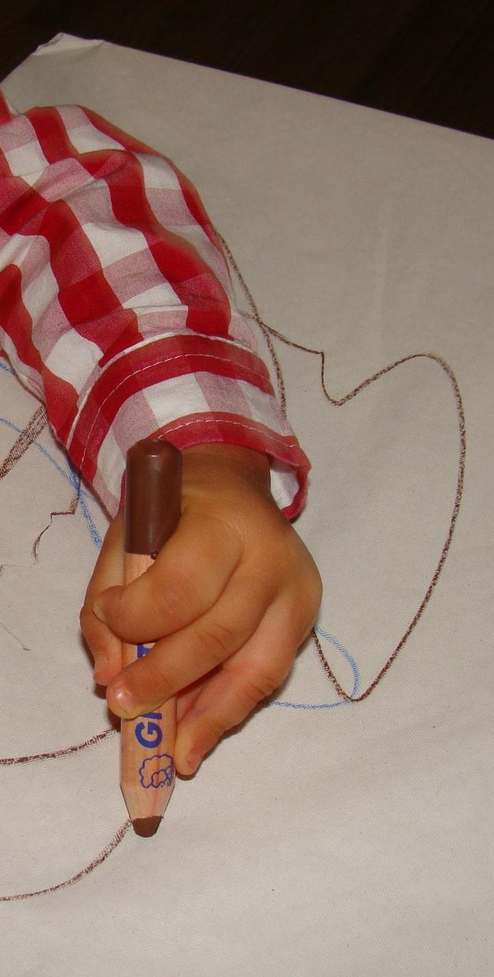 Rimuovere segni di pennarello