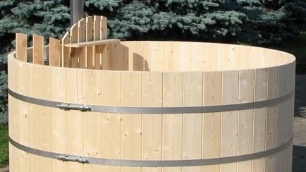 Vasca Da Esterno Riscaldata : Vasca esterna in legno come funziona edilnet