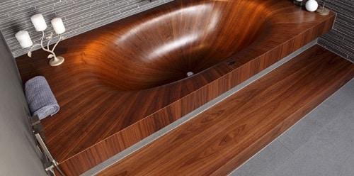 Vasca in legno come renderla impermeabile blog edilnet for Vernice per vasca da bagno