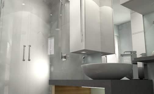 ... bagno moderno Ristrutturazione del bagno, il progetto Bagno in