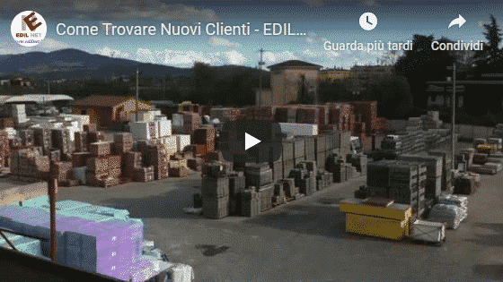 Video Sei un azienda e cerchi nuovi clienti Edilnet