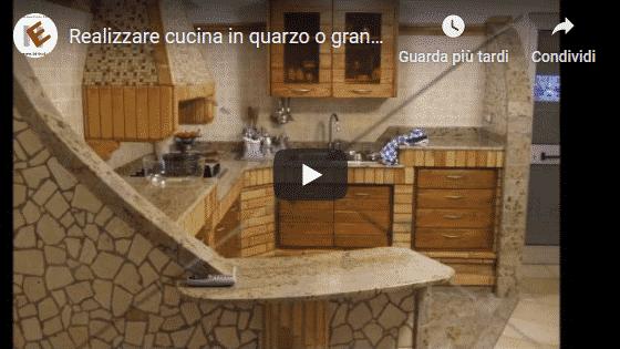 Video Blog edilnet sul Granito o quarzo in cucina