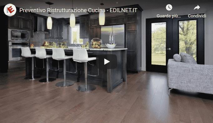 Video youtube di Edilnet.it per La cucina moderna, lineare ed elegante