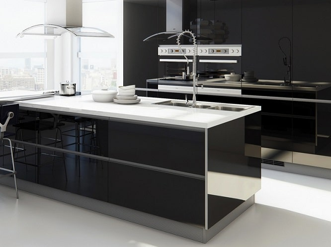 La cucina moderna lineare ed elegante blog edilnet for Cucina moderna vezia