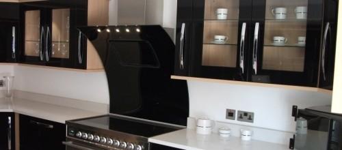 Foto di cucina moderna appena montata