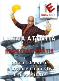 Registrazione azienda Edilnet