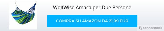amaca per due persone WolfWise