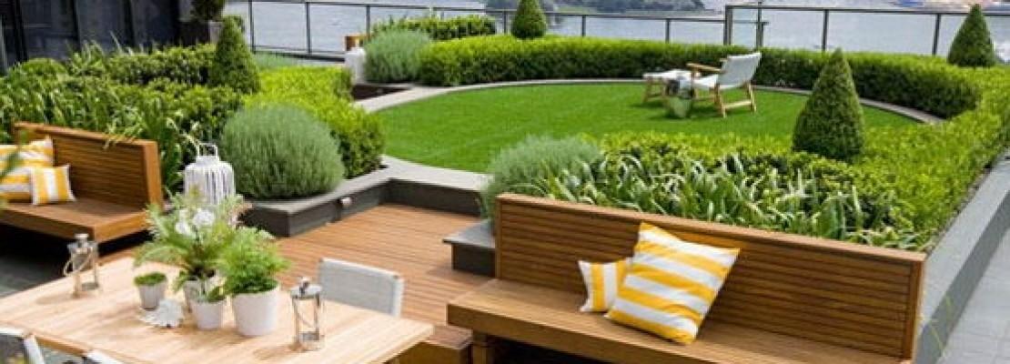 Creare un giardino sul terrazzo blog edilnet - Cucina sul terrazzo ...