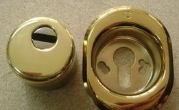 Parte della chiave di una serratura