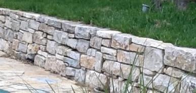 Come costruire un muretto a secco
