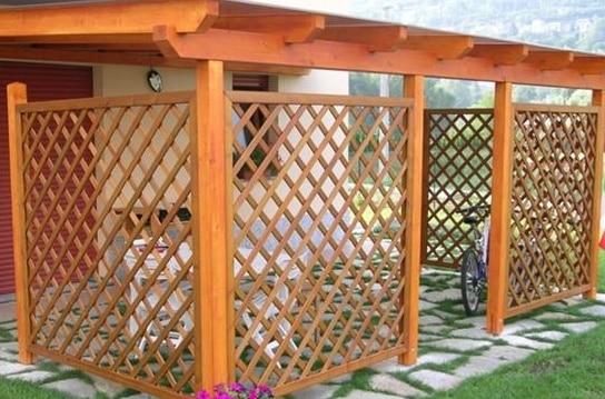 Fabulous come costruire un pergolato in giardino with for Diversi tipi di case da costruire