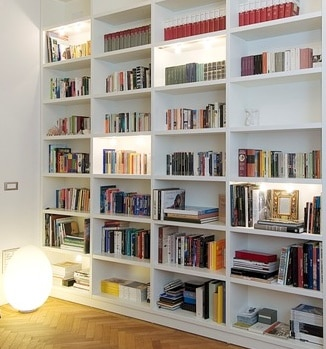 Come costruire una libreria in una nicchia