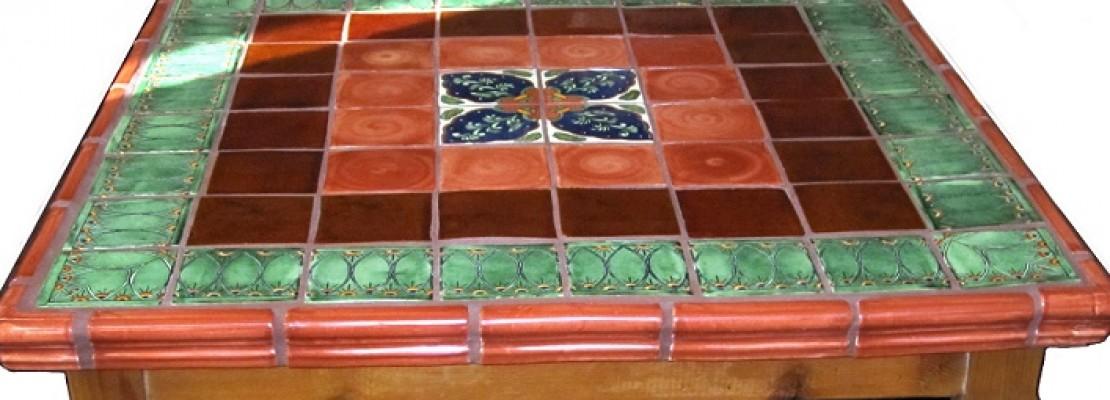 Come decorare un tavolo con le piastrelle blog edilnet - Decorare piastrelle ...