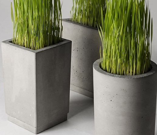Come realizzare vasi in cemento blog edilnet - Vasi per esterno in cemento ...