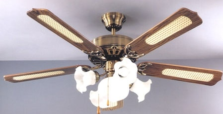 Come si applica un ventilatore al soffitto
