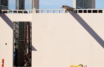Muro portante di costruzione