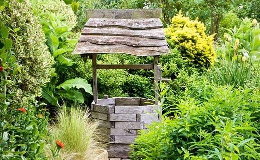 Pozzi Decorativi Da Giardino : Pozzo per il giardino come si costruisce edilnet