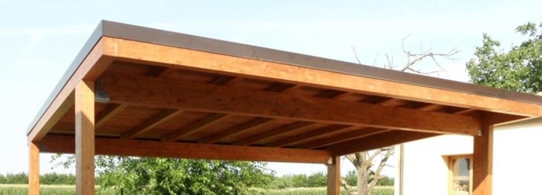 tettoia in legno realizzazione e costi blog edilnet