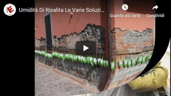 Video edilnet Umidità di risalita le varie soluzioni
