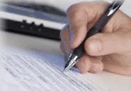 Firma su Perizia di stima