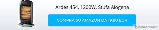 Ardes-454-1200W-Stufa-Alogena-con-3-elementi-Nero-Grigio