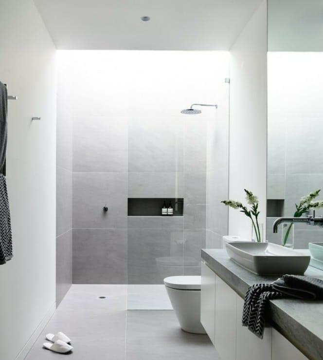 Comunque sia, vasca o doccia , la giusta collocazione è in fondo alla ...