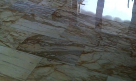 Piombatura del marmo: foto dopo lavoro