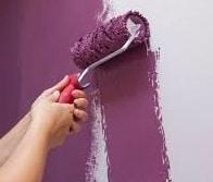 Pitturare il bagno con il rullo