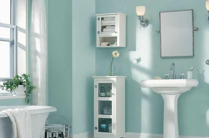 Come pitturare il bagno