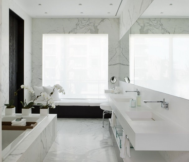 Come pitturare una stanza da bagno la scelta giusta - Riscaldare il bagno ...