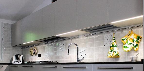 Impianto elettrico in cucina