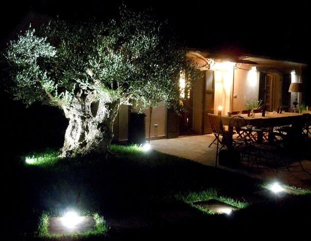 Esempi illuminazione giardino ai33 regardsdefemmes for Impianto esterno elettrico