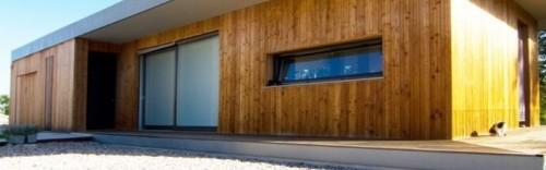 Casa moderna in bioedilizia: progetto realizzato