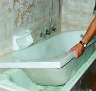 Sovrapposizione di una vasca