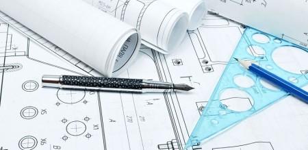 Disegno e progetto su carta per ristrutturare casa