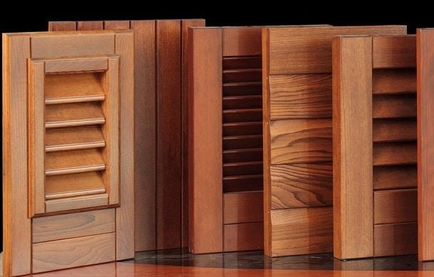 riparazione persiane in legno