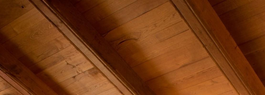 sottotetto in legno