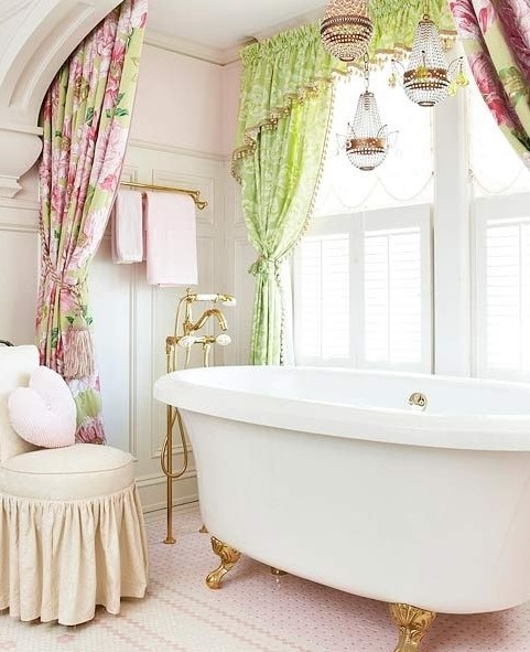 bagno shabby chic