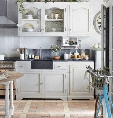 mobili per cucina shabby design casa creativa e mobili